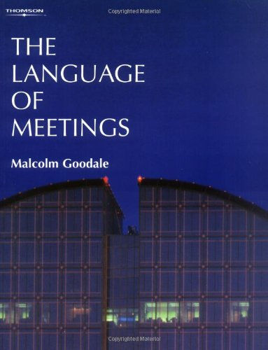 9783190029242: The Language of Meetings