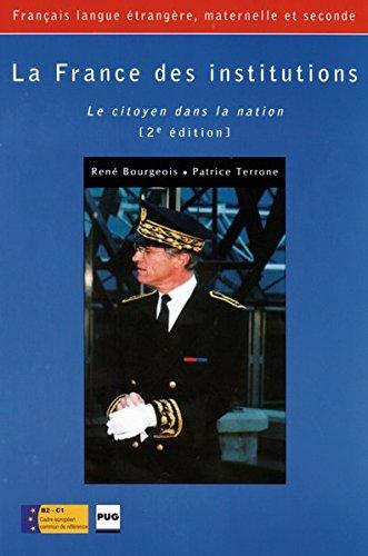 9783190033102: La France des institutions: Le citoyen dans la nation