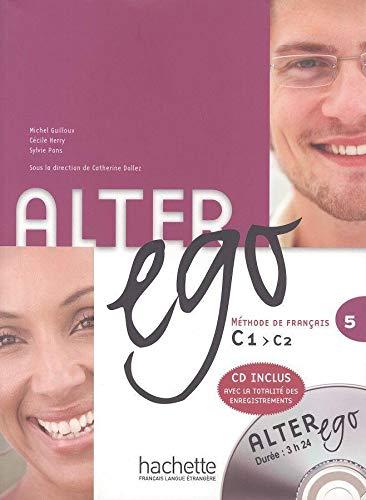 9783190033577: Alter ego 5. Kursbuch mit integrierter Audio-CD: Méthode de français