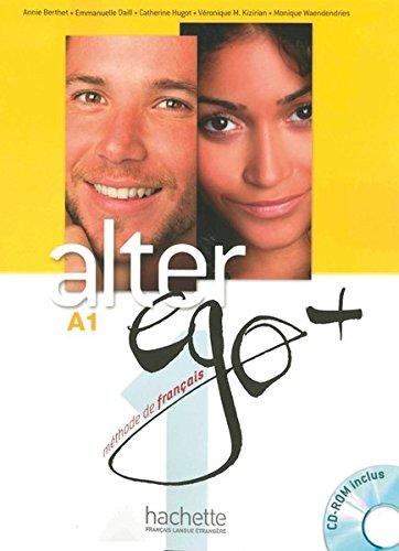 9783190033706: Alter ego+ 1. Kursbuch mit CD-ROM