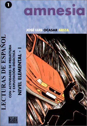 9783190041633: Amnesia: Lecturas de espanol. Nivel elemental 1
