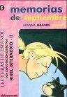 9783190041671: Memorias de septiembre: Lecturas de espanol. Nivel intermedio 2