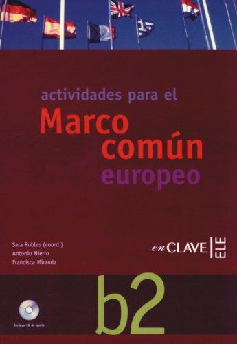 9783190042418: Marco común B2. Actividades: Actividades mit integrierter Audio-CD