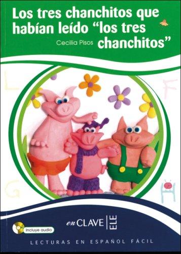 9783190042524: Los tres chanchitos que habàan leàdo los tres chanchitos. Lektüre mit CD