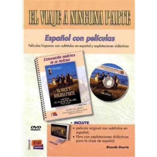 9783190043057: Español con películas: El viaje a ninguna parte. DVD mit Begleitbuch: Explotación didáctica de la película [Alemania]
