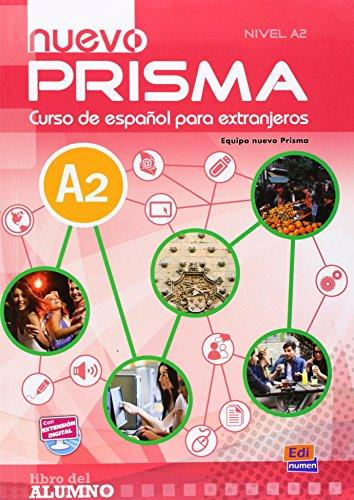 9783190043323: Nuevo PRISMA Nivel A2. Libro del alumno - Kursbuch mit MP3-CD: Curso de español para extranjeros