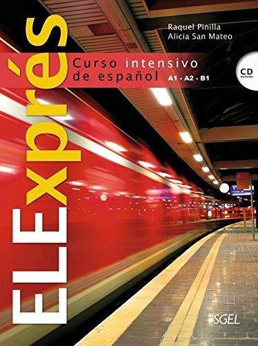 9783190045006: ELExprés. Libro del alumno + Audio-CD: Curso intensivo de español