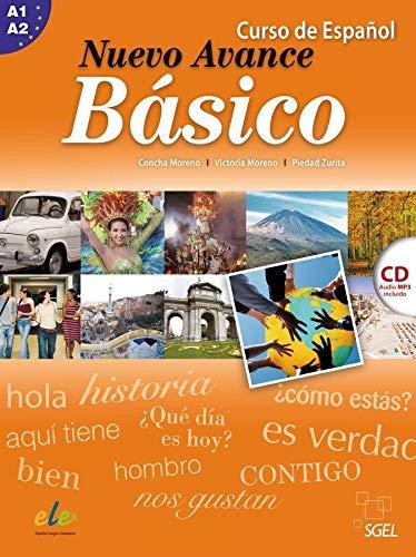 9783190045044: Nuevo Avance Básico. Kursbuch mit Audio-CD: Curso de Español
