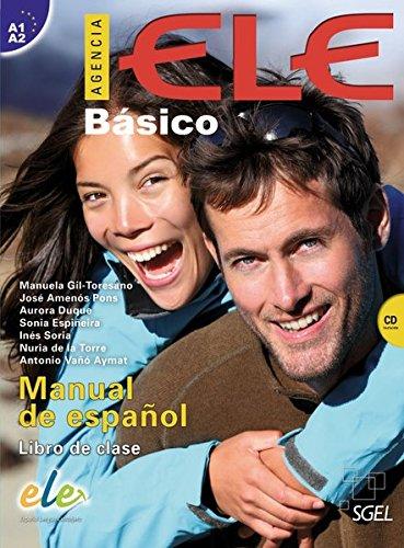 9783190045051: Agencia ELE Básico. Kursbuch mit MP3-CD