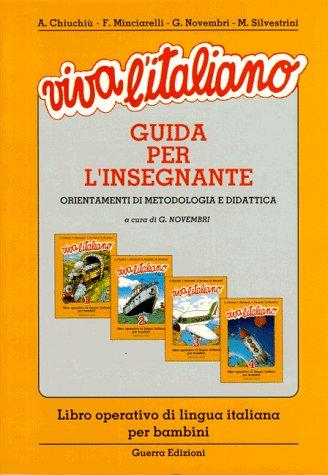 9783190051953: Viva l' italiano, Guida per l' insegnante