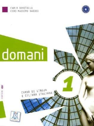 9783190054657: domani 1: Corso di lingua e cultura italiana
