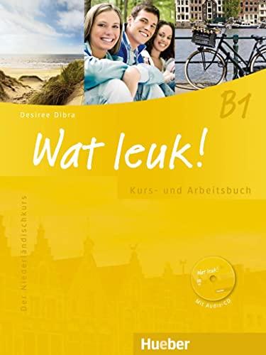 9783190054725: Wat leuk! B1. Kurs-und Arbeitsbuch mit 2 Audio-CDs