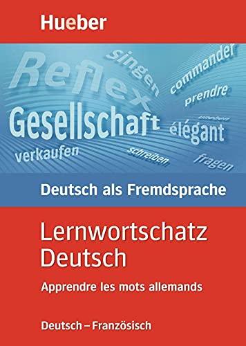 9783190064014: Lernwortschatz Deutsch, neue Rechtschreibung, Apprendre les mots allemands