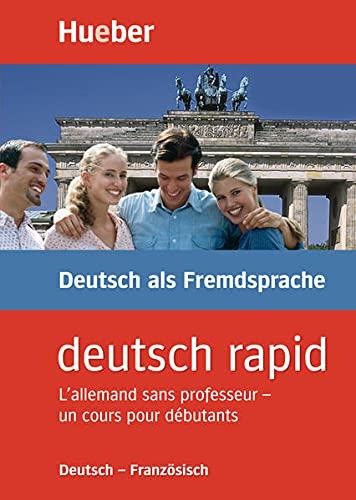 9783190074648: Deutsch rapid. Deutsch - Französisch: Lallemand sans professeur - un cours pour debutants. 2 CDs (120 Min), 1 Lehrbuch (120 S., illustr)., 1 Grammatikbogen