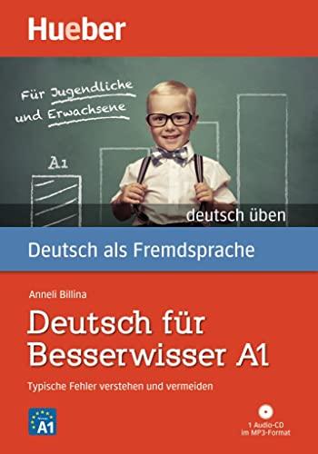 9783190074990: Deutsch Uben: Deutsch Fur Besserwisser A1 - Typische Fehler Verstehen - Buch (German Edition)