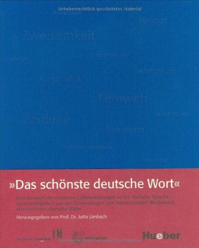 9783190078912: Das Schonste Deutsche Wort (German Edition)