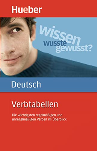 9783190079070: Hueber Dictionaries and Study-AIDS: Verbtabellen Deutsch Als Fremdsprache
