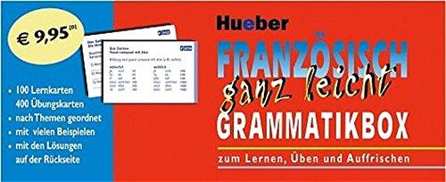 9783190095018: Französisch ganz leicht. Grammatikbox: Zum Lernen, Üben und Auffrischen