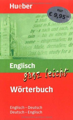 9783190095445: Englisch ganz leicht. Wörterbuch: Deutsch - Englisch. Englisch - Deutsch