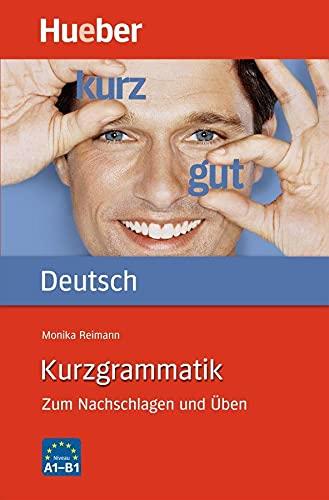 9783190095698: Kurzgrammatik Deutsch (German Edition)