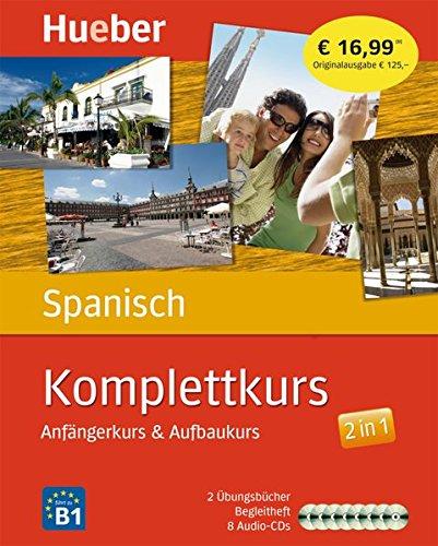 9783190097333: Komplettkurs Spanisch: Anfängerkurs & Aufbaukurs