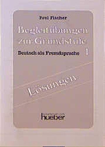 Lernziel Deutsch, Begleitübungen, Lösungen: Hieber, Wolfgang, Fischer,