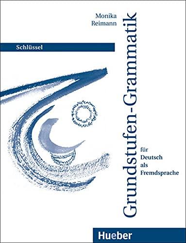 9783190115754: Grundstufen-Grammatik: Schlussel