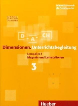9783190116836: DIMENSIONEN.3.Lehrerhandbuch(l.prof.)