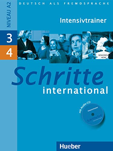 Schritte International: Intensivtrainer MIT Audio-CD 3 4: Daniela Niebisch
