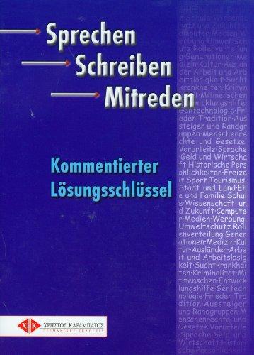 9783190118649: Sprechen Schreiben Mitreden: Losungen (German Edition)