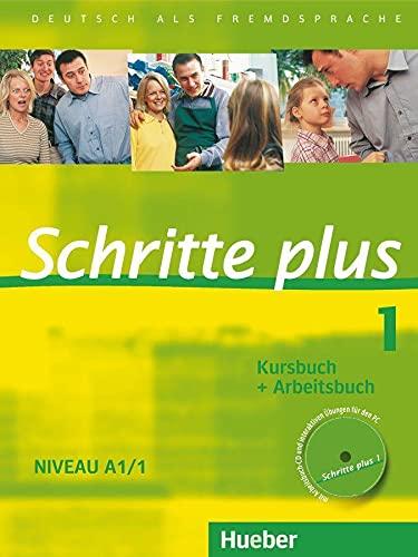 9783190119110: SCHRITTE PLUS 1 KB+AB+CD-AB (SCHRPLUS)