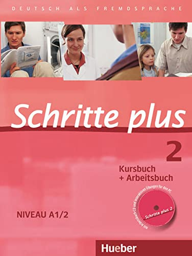 9783190119127: SCHRITTE PLUS 2 KB+AB+CD-AB (SCHRPLUS)
