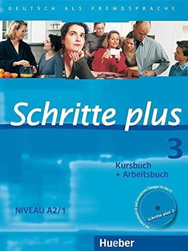 9783190119134: SCHRITTE PLUS 3 KB+AB+CD-AB (SCHRPLUS)