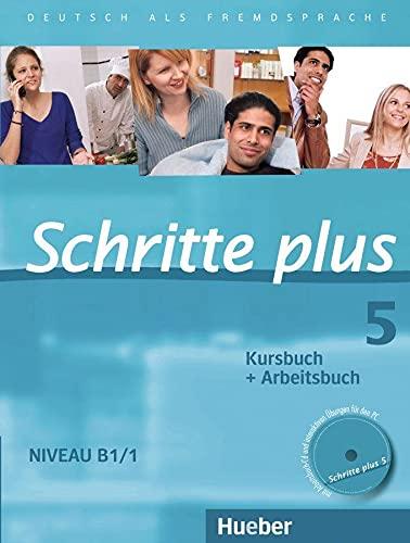 9783190119158: SCHRITTE PLUS 5 KB+AB+CD-AB (SCHRPLUS)