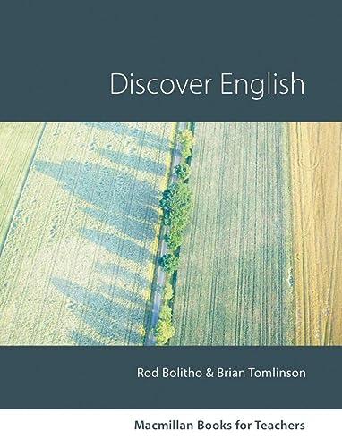 9783190125838: Macmillan Books for Teachers: Discover English
