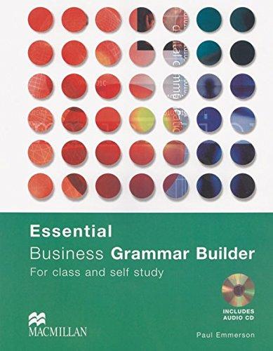 9783190127221: Essential Business Grammar Builder. Buch mit Audio-CD