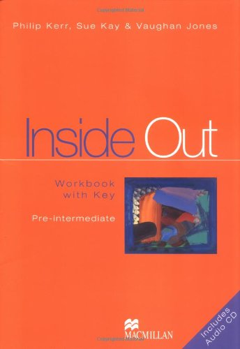 9783190128723: Inside Out Pre-intermediate. Workbook Pack. Mit CD