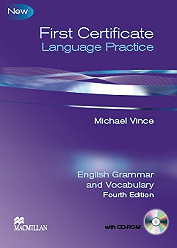 9783190128853: First Certificate Language Practice New. Student's Book with key