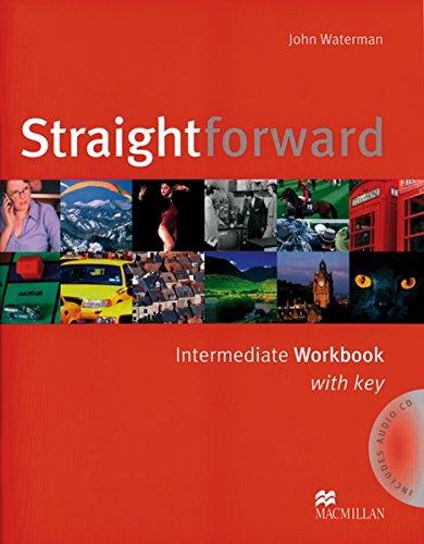 9783190129539: Straightforward Intermediate. Workbook with Key and Audio-CD