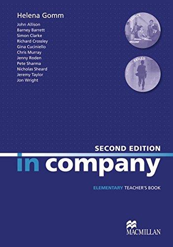 9783190129812: In Company. Elementary. Teacher's Book