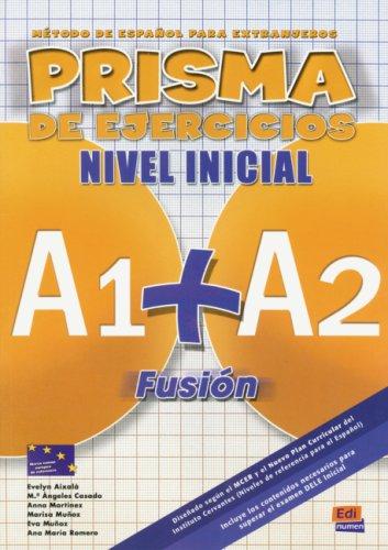 9783190142743: PRISMA A1 + A2 Fusión. Libro de ejercicios: Método de español para extranjeros