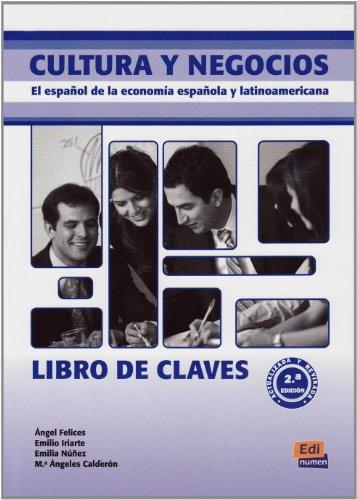 9783190142934: Cultura y negocios. Libro de claves: El español de la economía española y latinoamericana