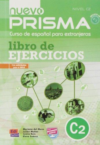 9783190143085: Nuevo PRISMA. Nivel C2. Libro de ejercicios - Arbeitsbuch: Curso de español para extranjeros