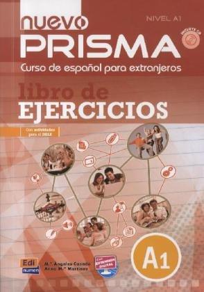 9783190143313: Nuevo PRISMA. Nivel A1. Libro de ejercicios. Arbeitsbuch mit MP3-CD: Curso de español para extranjeros