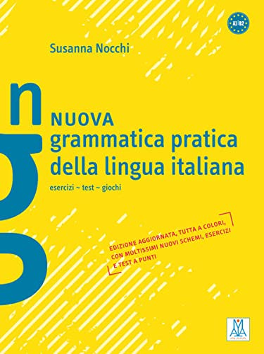 9783190153534: Nuova grammatica pratica della lingua italiana: esercizi - test - giochi