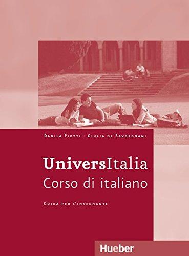 9783190153787: UniversItalia Lehrerhandbuch