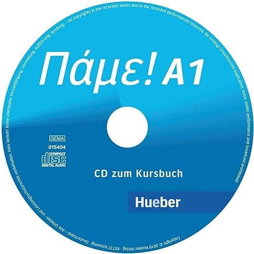 9783190154043: Pame! A1. Audio-CD zum Kursbuch: Der Griechischkurs