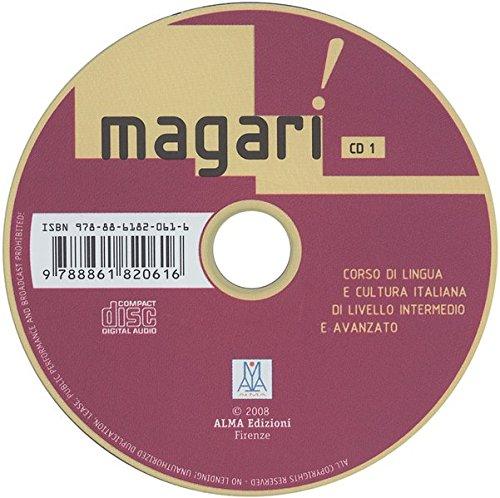 9783190154210: Magari. Corso di lingua e cultura italiana di livello intermedio e avanzato: Magari. Audio-CDs