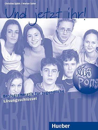 9783190173389: Und Jetzt Ihr!: Losungsschlussel (German Edition)