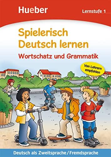 9783190194704: Spielerisch Deutsch lernen. Wortschatzvertiefung und Grammatik. Lernstufe. Per la Scuola elementare: SPIELER.DT.LERNEN 1 WS/GR